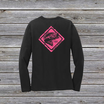 Bass Crossing Series Ladies Long Sleeve Tee