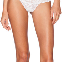 Cosabella Never Say Never Cutie Lowrise Thong in White