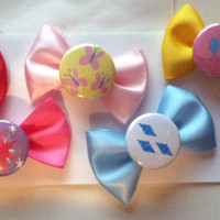 My Little Pony Friendship is Magic - cutie mark - hair bows 6