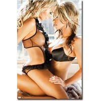 Satio Embrace Sexy Photo Poster Print - 22x34 Poster Print, 22x34