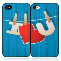 I Love You iPhone Case For Lovers: Cell Phones & Accessories