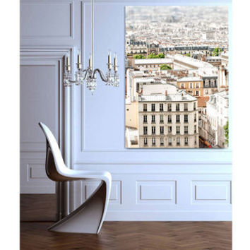 Paris View Ready To Hang Canvas