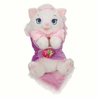 "disney parks 10"" baby marie plush toy with blanket new with tag"