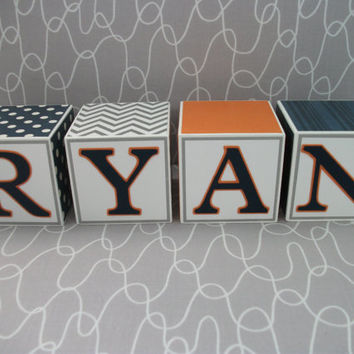 Baby Name Blocks, Name Blocks, Baby, Baby Boy, Newborn, Nursery, Baby Gift, Baby Shower, Baby Blocks, Newborn Pictures, Baby Name Sign, Gift