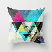 Graphic 4 X Throw Pillow by Mareike Böhmer