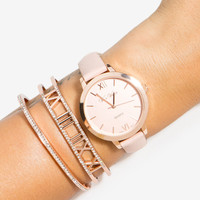 Minimal Times Watch Set