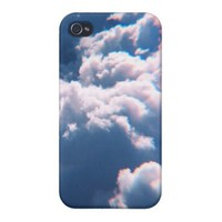 Blue Cloud iPhone 4/4S Case