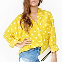 Spot Dot Blouse