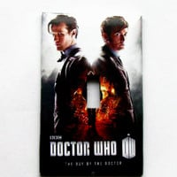 Light Switch Cover - Light Switch Plate Dr Who The Day of the Doctor BBC