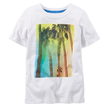 Carter's Tropical Graphic Tee - Baby Boy, Size: