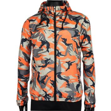 Trendy Dropshipping Fashion Hip Hop Male Casual Camouflage Clothes Men's Windbreaker Zipper Pockets militaryLong Sleeves Denim Jacket AT_94_13