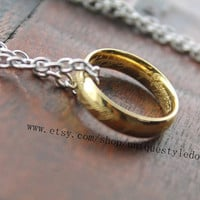 one ring necklace my precious The Lord of the rings jewelry gift