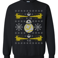 Star Wars Adorable Ugly Christmas Sweater sweatshirt unisex adults size S-2XL