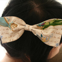 Peter Pan Hair Bow