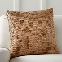 Lattice Paper Knit Pillow Cover