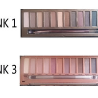 Naked 3 Matte Eyeshadow Pallete Make Up Nude Smoky Eye Shadow