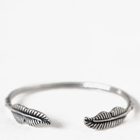 Fallen Leaves Bangle - $14.00: ThreadSence, Women's Indie & Bohemian Clothing, Dresses, & Accessories