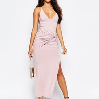 ASOS Strappy Knot Maxi Dress at asos.com