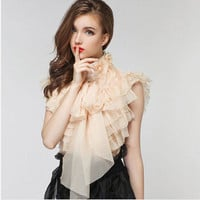 Romantic Ruffled Blouse