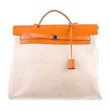 Hermès Herbag MM Satchel
