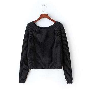 Brookings Crop Sweater