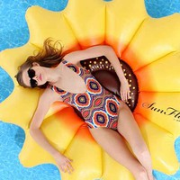 Sunflower Pool Float- Assorted One