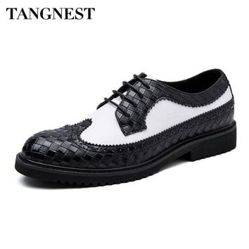 British Style Men's Brogue Shoes