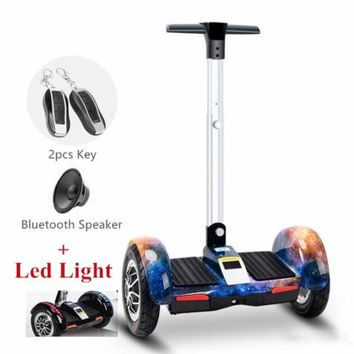 Galaxy Segway Electric Scooter Hoverboard with Handle