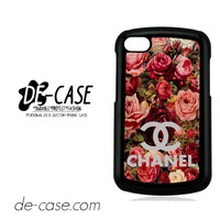 Floral Chanel 2 For Blackberry Q10 Case Phone Case Gift Present YO