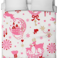 Kawaii Christmas Duvet Cover