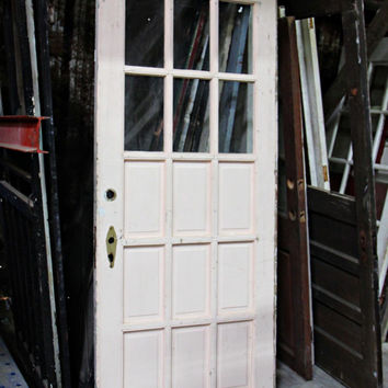 Single Vintage French Door FREE SHIPPING