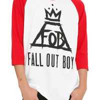 Fall Out Boy Crown Raglan