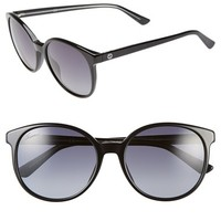 Women's Gucci 55mm Retro Sunglasses