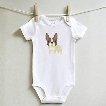 French Bulldog Baby Clothes for Baby Boy or Baby Girl