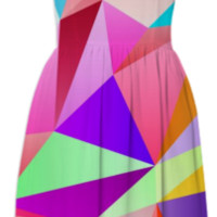 Geometric No.9 created by House of Jennifer | Print All Over Me