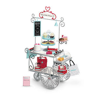 NEW IN BOX American Girl Grace's Grace FRENCH PASTRY BAKERY CART Complete Set