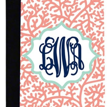 Monogrammed Printed Pattern Medium Notebook | School Accessories | Marley Lilly