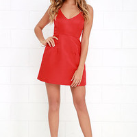 Irresistible Charms Red Dress