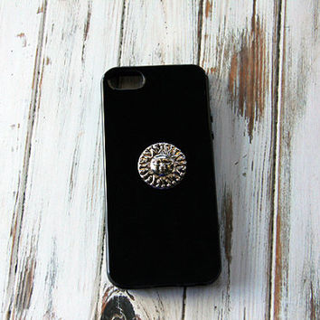 Sun iPhone 5 Case Black iPhone 5 Case Hippie Psychedelic Mandala iPhone 5s Case Samsung Galaxy S3 Case Samsung Galaxy S4 Case