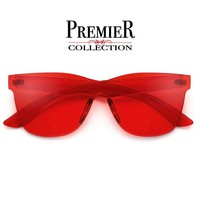 Premier Collection-Colorful Bright Frameless Bold Aesthetic Sunnies – Sunglass Spot