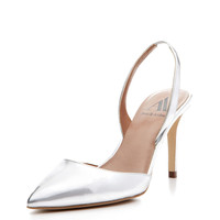 Lara Slingback Pointed-Toe Pump