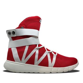 Red/White Super Freak Hightop Cardio Training Sneaker