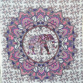 UK Wall Decor Hippie Tapestries Bohemian Mandala Tapestry Hanging Indian Throw
