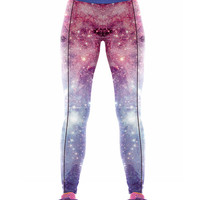 Good Elasticity Galaxy  Yoga Pants