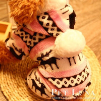 Christmas Fawn Pet Dog Cat Cute Warm clothes Autumn Winter Coat Puppy Costumes Apparel Flannel #sclm = 1930041540