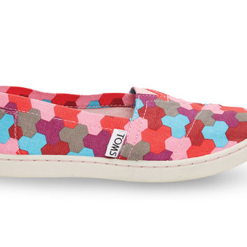 Pink Geometric Youth Classics