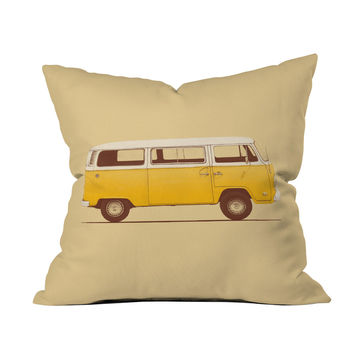 Sunshine Camper Pillow Cover