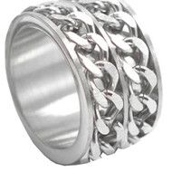 2 Chain Ring (silver)