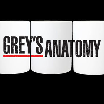 Greys anatomy coffee Mug /  11 oz. Mug
