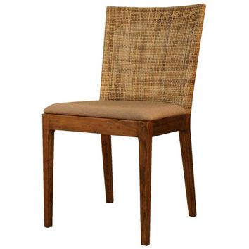 Hilo Rattan Side Chair - SET OF 2 NATURAL
